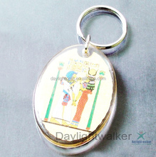 football souvenir personalized Acrylic Photo Frame Keychains