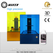 Newest Omaker SLA uv curing resin 3d printers Cheap price machine