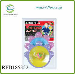 Sport toy plastic racket set suction cup ball suction ball in toys balls