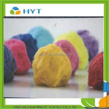 Colorate lungo regernated fibra/regernated di cotone
