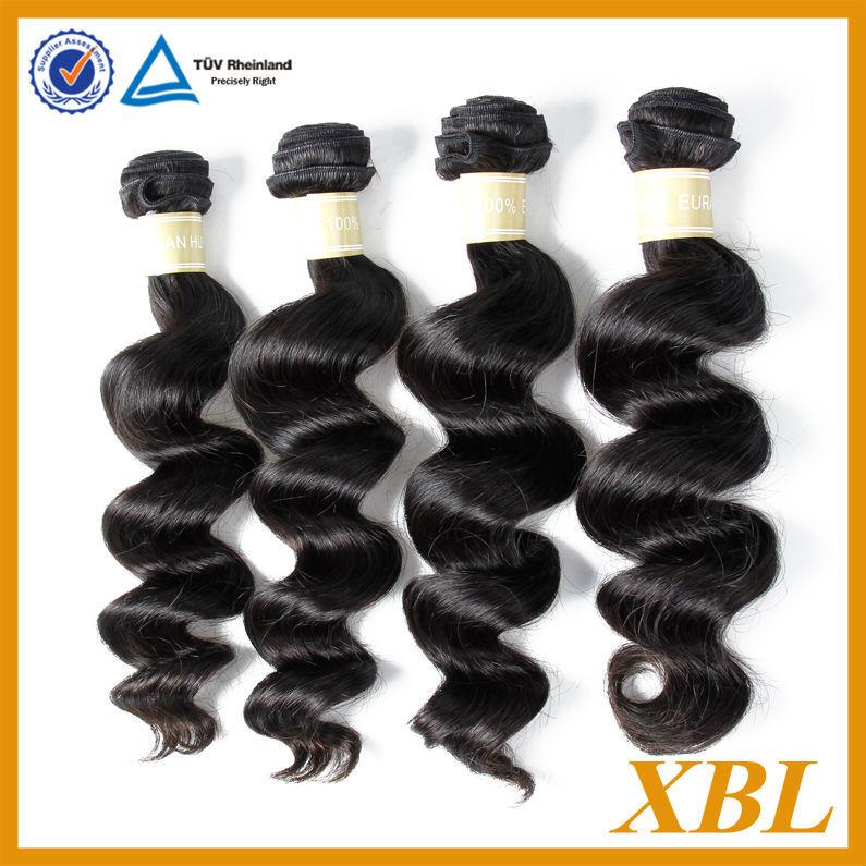 la mejor calidad al por mayor 5a birmanos sueltos de onda del pelo humano extensiones