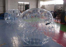 2014 popular hot sale giant hampster soccer ball for playground cheap tpu bubble suit for soccer