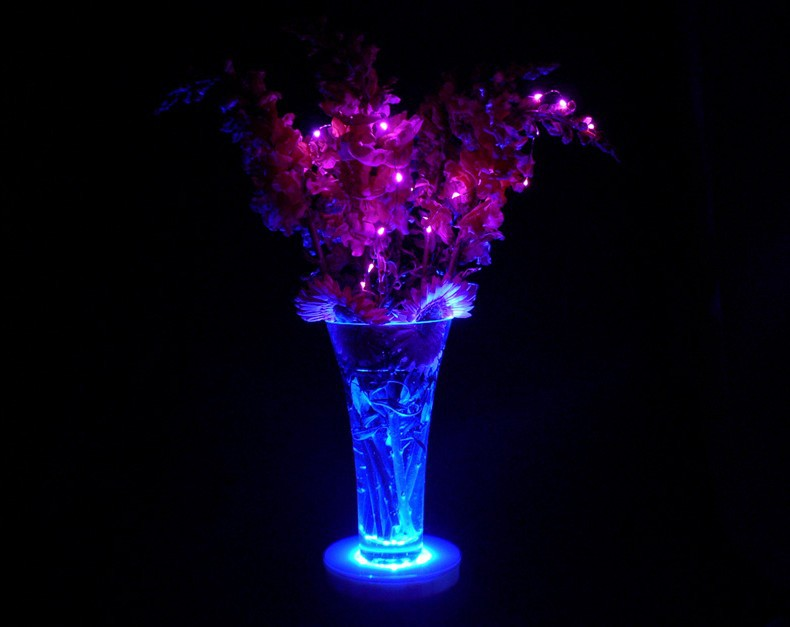 Flower Lights in Vase Flower Vase Decorative Micro