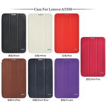 Best trade assurance flip cover case for lenovo a5500