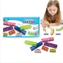 7pcs Multi-color Crayons Set Rich Color High Quality 100% Safe non-toxic Children's DIY Educational Toys Gift