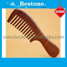 Pear Wood Hair Combs