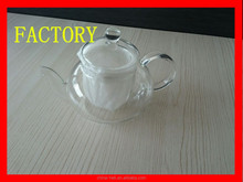 Cast Iron or glass teapot
