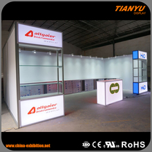 Quality Guaranteed Original Brand Environmental Material Trade Show Decoration Stands Exposure System Booth