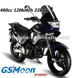 Powerful 400cc EEC EPA street motorcycle