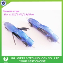 Fashionable Popular Plastic Car Shape Toy Pen For Promotion