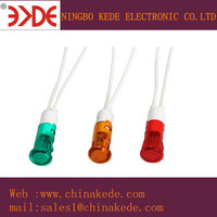 Neon indicator lights with small wire 125v 220v 400v high volt for home appliance