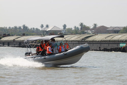 Liya 12people rigid inflatable boat rib for sale