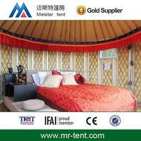 Luxury aluminum yurt tents to live in
