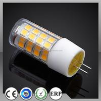 Max power 4W 400lm G4 G9 LED bulb
