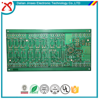 Large Size Color Solder LCD TV PCB Circuit Board Making