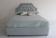 modern, queen style and fresh fabric bed furniture for love