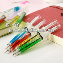 new design syring ball injection ballpoint pen imprint logo 1000pcs free shipping