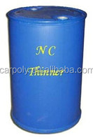 Carpoly cellulose paint thinners with 200L package 170kg net weight