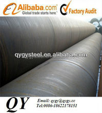API 5L PSL2 X42 helical-weld pipe with painting (100% X-ray test , 100% Ultrasonic test , 100% Hydrostatic test)