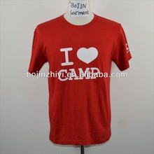 11 years tshirt factory custom plain cotton tshirts for printing