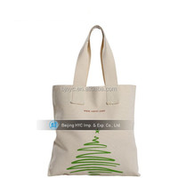 2015 Eco-friendly nature 8oz standard size cheap canvas duffle bag for advertising