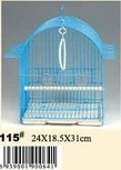 Wire folding bird cage with outsider feeder, handmade pet/bird cage
