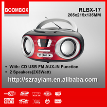 CD Boombox CD player with Built in AM Antenna Bar