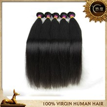 New Arrival Peruvian straight hair can be dyed human hair extension
