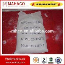 sulfuro de zinc pintura zns pigmento pigmento blanco directo de fábrica