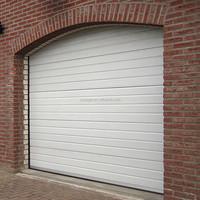 Single Layer Panel Steel Garage Doors Cheap Prices
