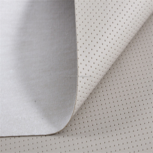 Hot sell embossed pattern 100% PU synthetic leather for car seat