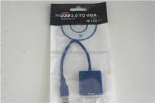 USB 3.0 to VGA 15 Pin Adapter - max. Resolution 2048 x 1152