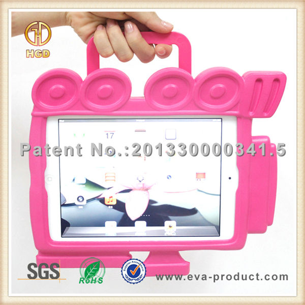 Stand kids safe shockproof EVA case and cover for ipad mini