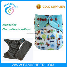Famicheer PUL Printed One Size Baby Cloth Nappy