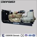 1500 kw dieselgenerator 50hz 1500rpm/min, Wasser generator diesel generator 380v