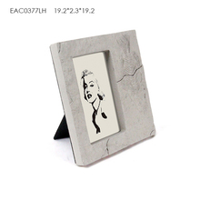 China factory 4x6 5x7 6x8 8x10 cement MDF A1 A2 A3 A4 size picture photo frame