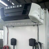 Carrier van cooling system