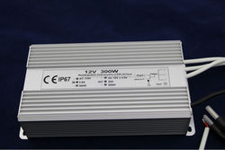 Resistant and Strong Waterproof Electronic LED driver, DC12V, 300W, IP67,CE ROHS,3 years warranty