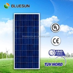 Bluesun high quality competitive price full certificate poly 150w 12v solar panel