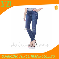 used denim jeans ready made jeans printed denim custom made jeans from china