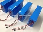 48v/60v de iões de lítio bateria de triciclo