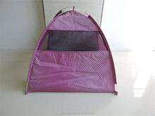 Pet camping tents waterproof pet tent dog bed tent for sale