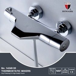 Modern thermostatic bath filler and shower mixer