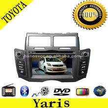 bluetooth car radio for toyota yaris 2004-2012 with GPS /Bluetooth/ipod/TV/AM/FM ect