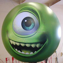 Custom new design Full printing inflatable helium PVC balloon