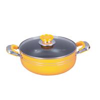 Flame free aluminum cooking pot