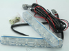 Super White 6 LED 6W Universal Car Led Light Daytime Running Auto Lamp DRL Auxiliary Light