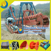 China Hot Selling Bucket Wheel River Gold Mining Equipment