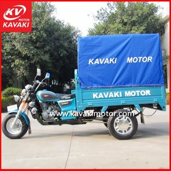 KV150ZH-A Cargo Tricycle/gas three wheeler passenger motor/tuk tuk with canvas for sale in China
