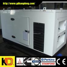 Low fuel consumption Open / Soundproof Type Diesel Generator 100kw With CUMMINS Engine